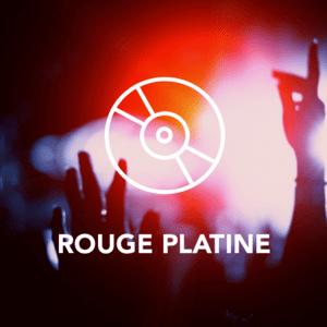 Radio ROUGE PLATINE