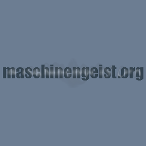 Radio maschinengeist.org